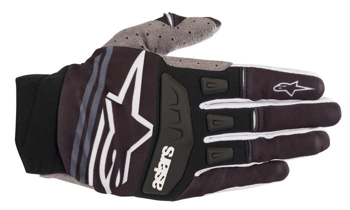 Kit Glove Alpinestars Techstar - 2019- Black White XXL - Extra Large