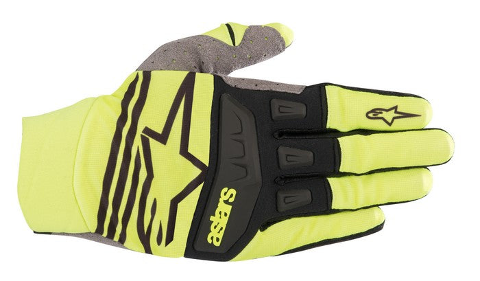 Kit Glove Alpinestars Techstar - 2019- Yellow Fluo Black XXL - Extra Large