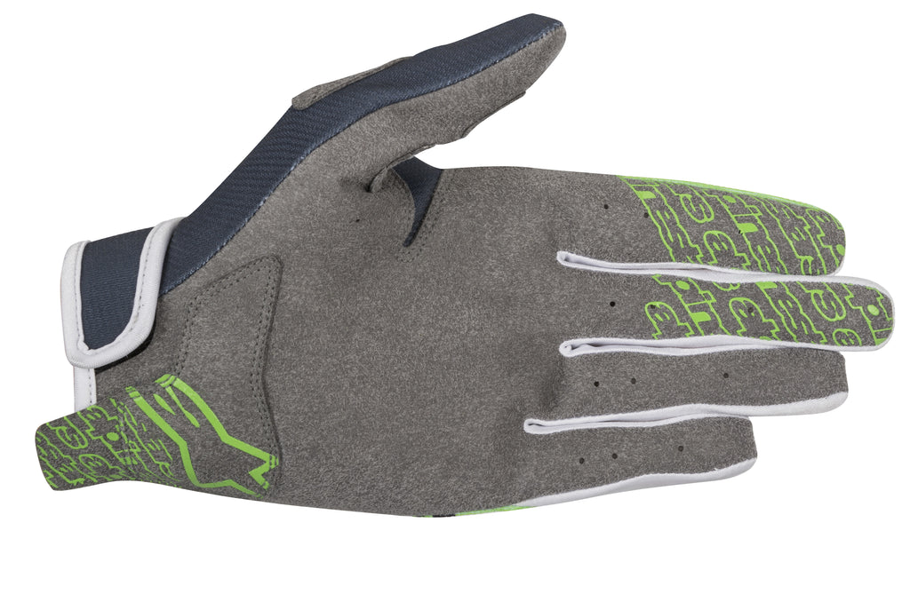 2018 Alpinestars Radar Flight Gloves Anthracite Green