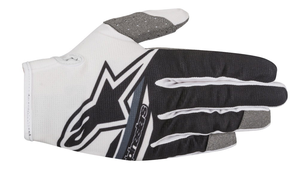 2018 Alpinestars Radar Flight Gloves White Black