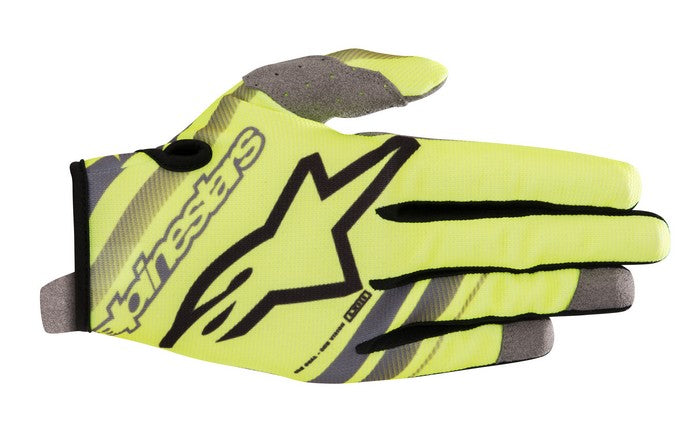 Kit Glove Alpinestars Radar - 2019- Yellow Fluo Grey XXL - Extra Large