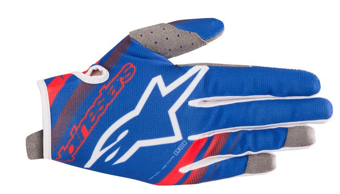 Kit Glove Alpinestars Radar - 2019- Blue Red White XXL - Extra Large