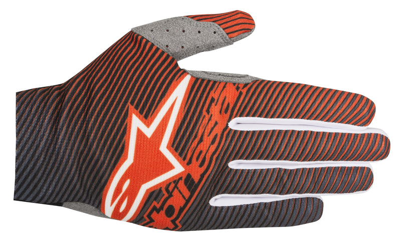 2018 Alpinestars Dune Gloves Orange Dark Blue
