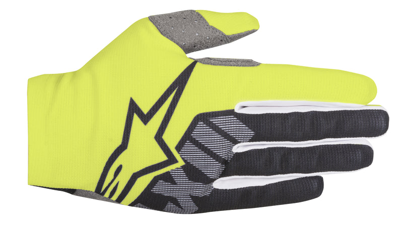 2018 Alpinestars Dune Gloves Yellow Flo Black