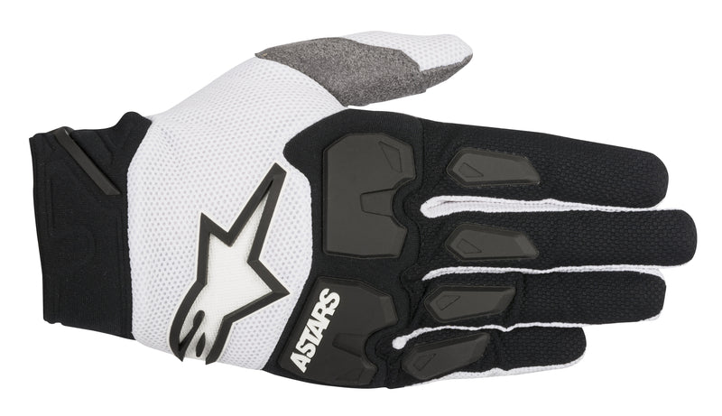 Kit Glove Armoured Alpinestars Racefend - 2018- Black White