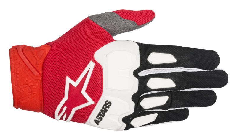 2018 Alpinestars Racefend Gloves Black Red White