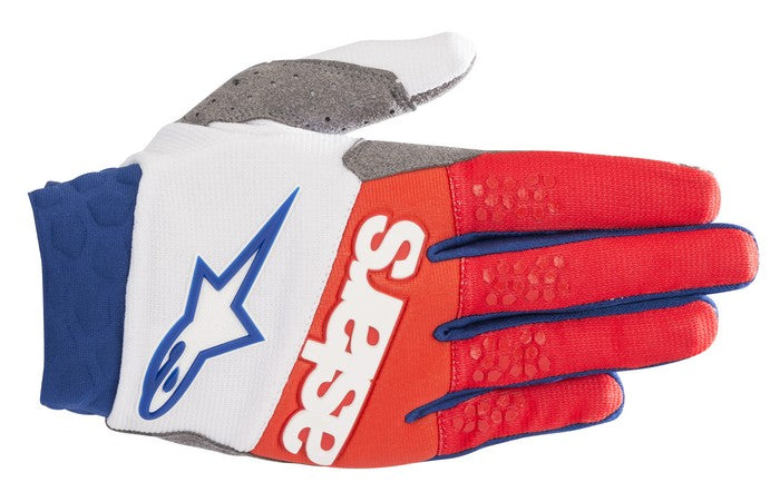 Kit Glove Alpinestars Racefend - 2019- White Red Blue XXL - Extra Large