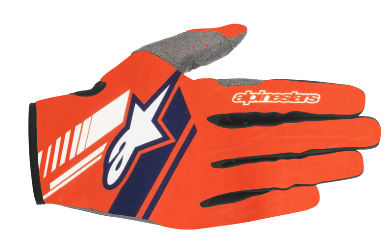 2018 Alpinestars Gloves Orange Blue