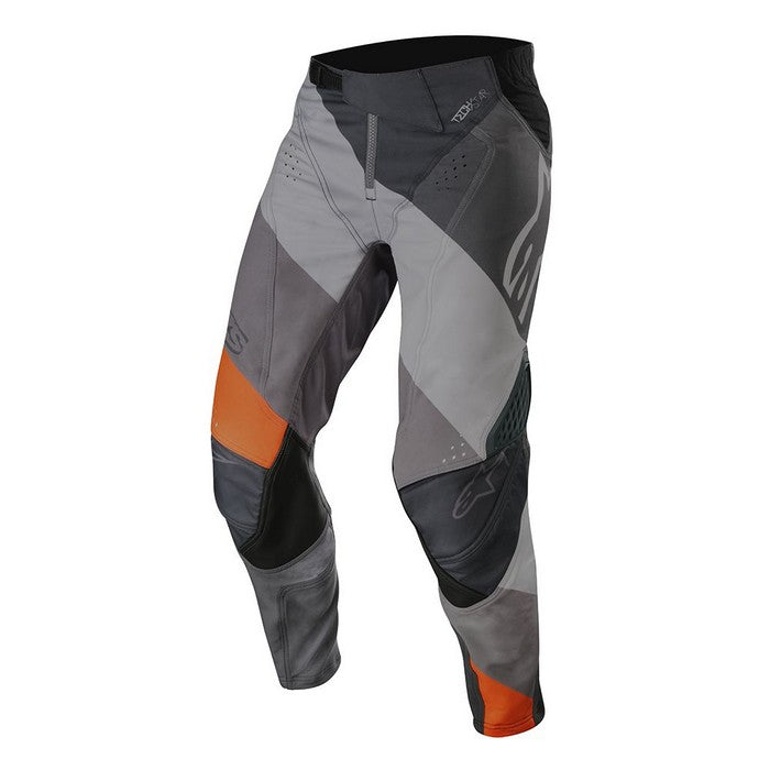Kit Pants Alpinestars Techstar Venom - 2019- Anthracite Grey Orange Fluo 40in