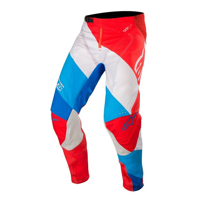 Kit Pants Alpinestars Techstar Venom - 2019- Red White Blue 40in