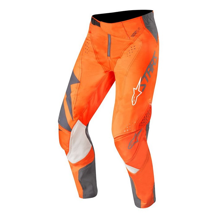 Kit Pants Alpinestars Techstar Factory - 2019- Anthracite Orange Fluo 40in