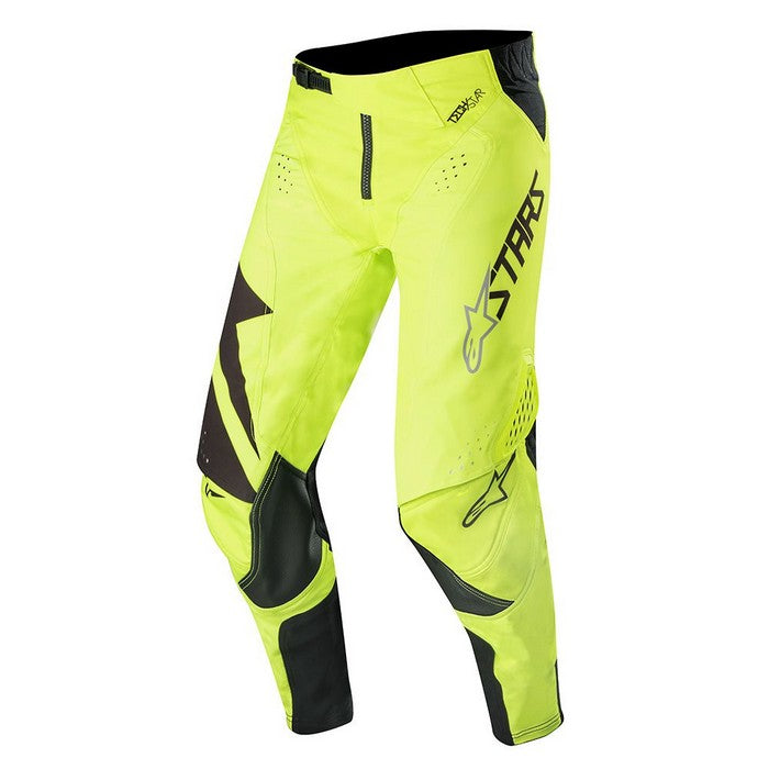Kit Pants Alpinestars Techstar Factory - 2019- Black Yellow Fluo 40in