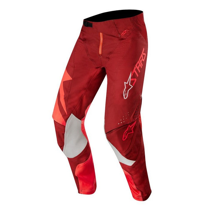 Kit Pants Alpinestars Techstar Factory - 2019- Red Burgundy 40in