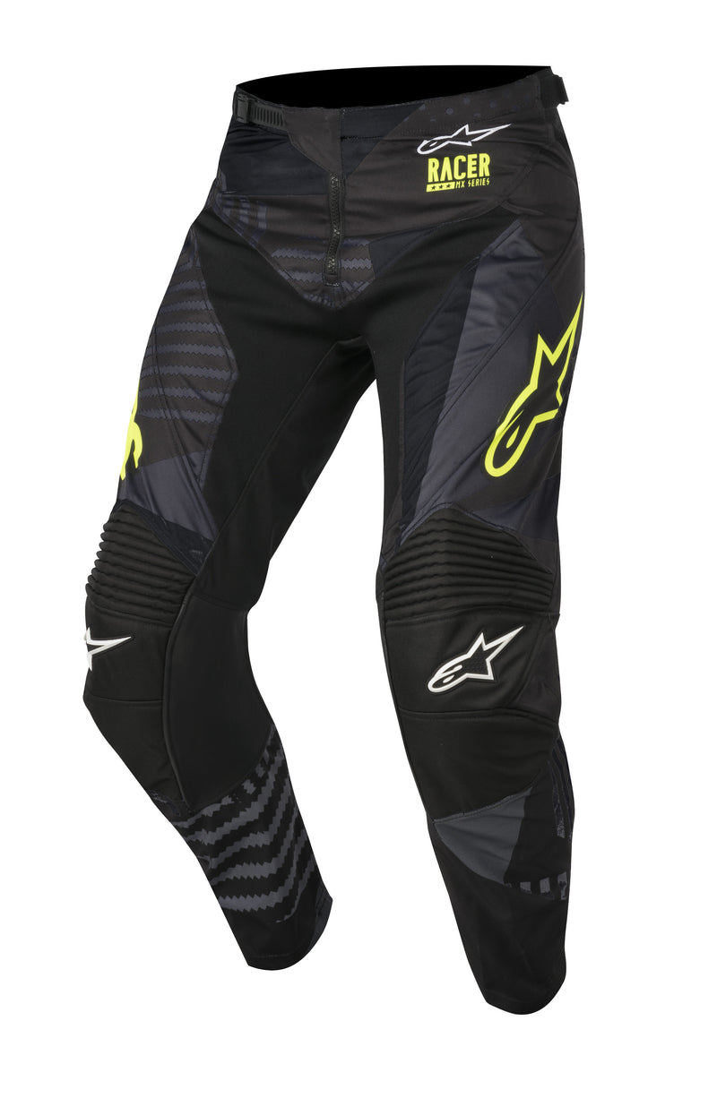 2018 Alpinestars Racer Tact Pants Black Flo Yellow