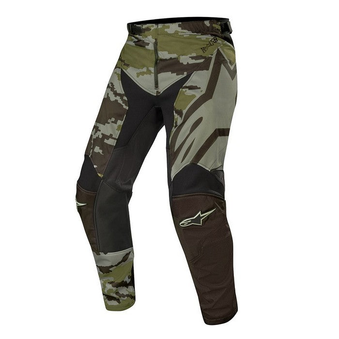 Kit Pants Alpinestars Racer Teactical - 2019- Black Green Camo 40in