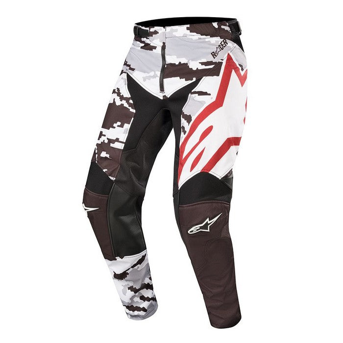 Kit Pants Alpinestars Racer Teactical - 2019- Black Grey Camo Burgundy 40in