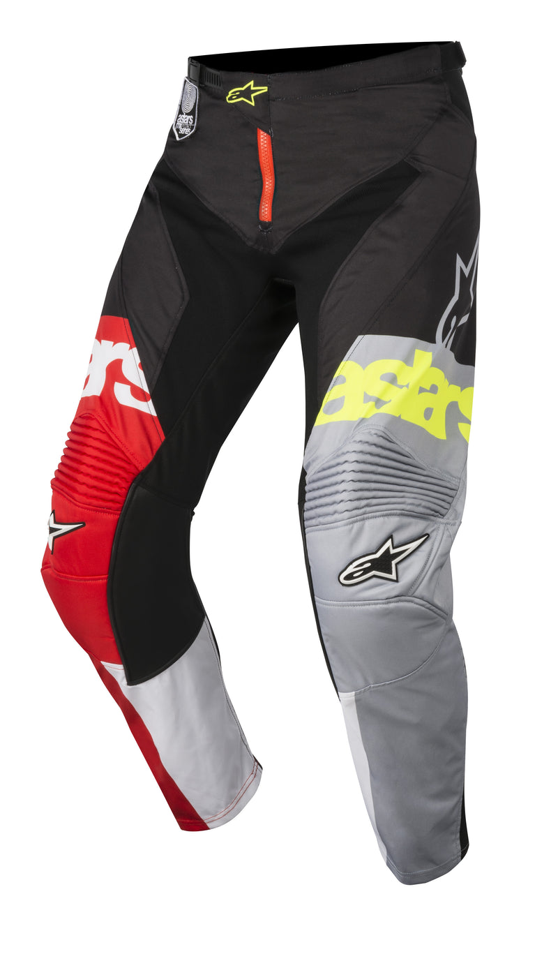 2018 Alpinestars Racer Flagship Pants Red White Black OCT17
