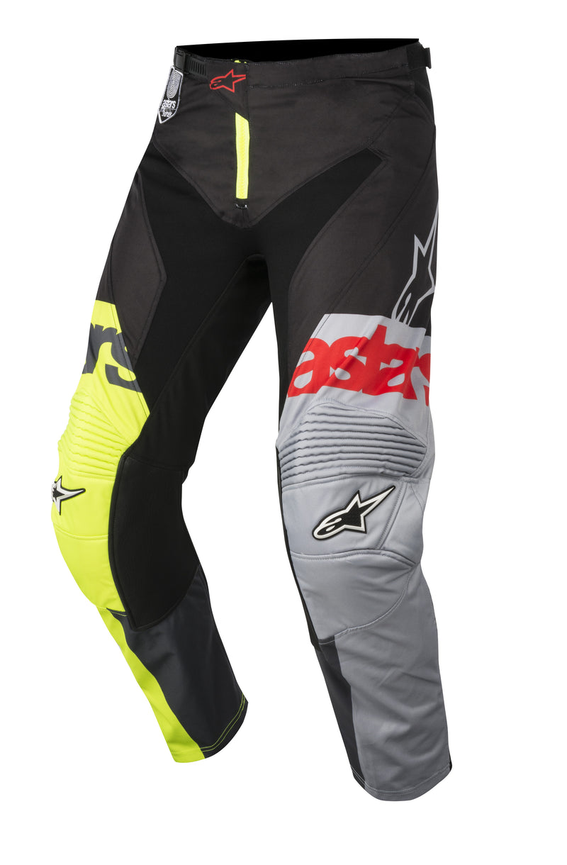 2018 Alpinestars Racer Flagship Pants Flo Black Anthracite OCT17