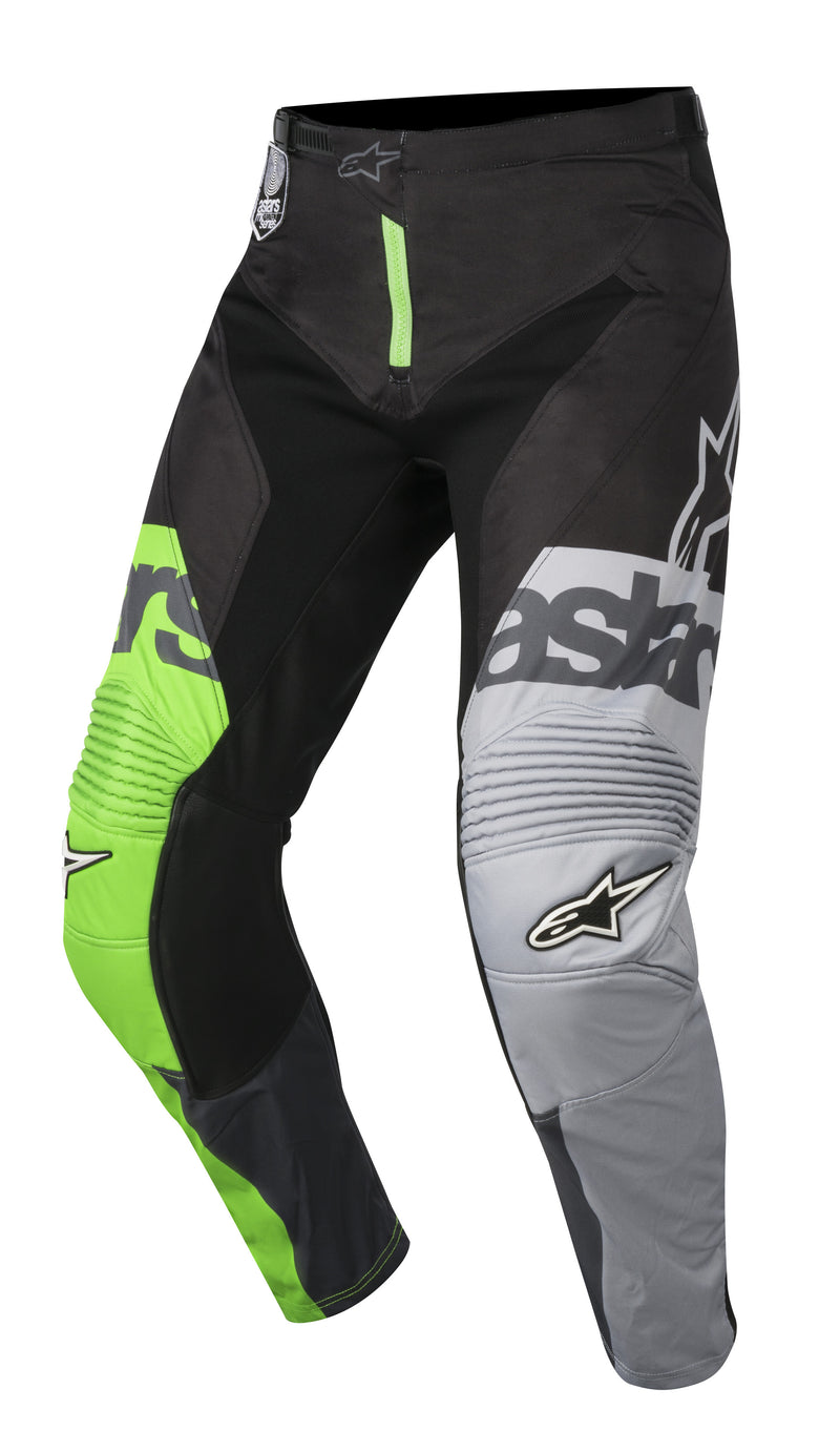 2018 Alpinestars Racer Flagship Pants Green Antracite Black OCT17