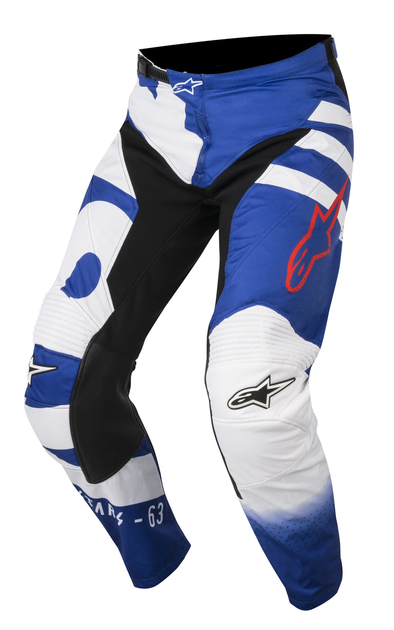 2018 Alpinestars Racer Braap Pants Blue White Red