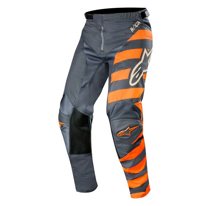 Kit Pants Alpinestars Racer Braap - 2019- ANTHRACITEORANGE FLUOSAND40in