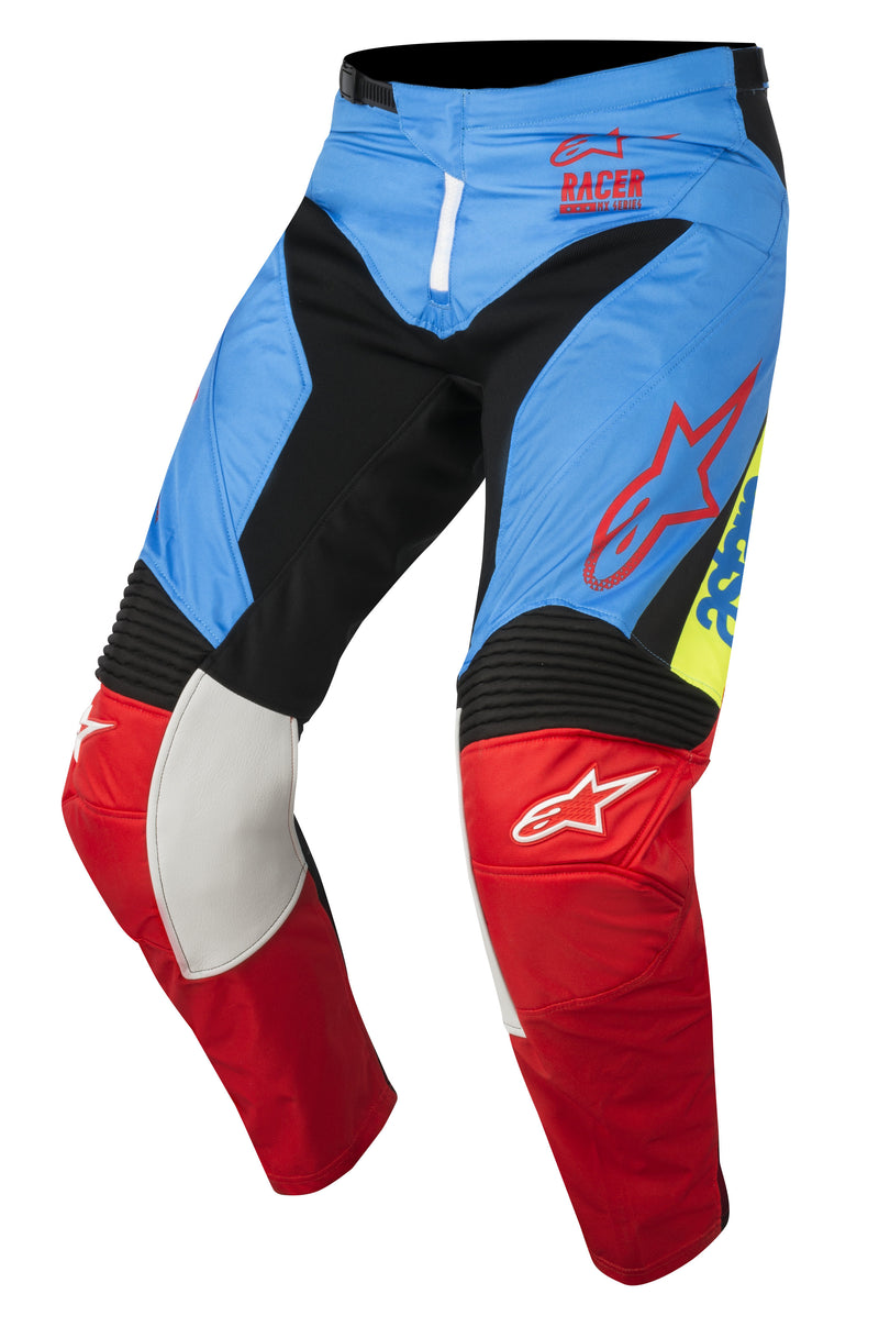 2018 Alpinestars Racer Supermatic Pants Aqua Black Red