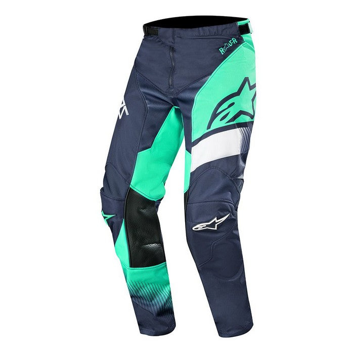 Kit Pants Alpinestars Supermatic - 2019- Dark Navy Teal White 40in