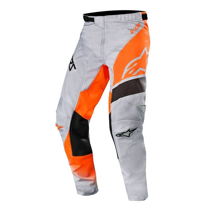 Kit Pants Alpinestars Supermatic - 2019- Light Grey Orange Fluo Black 40in