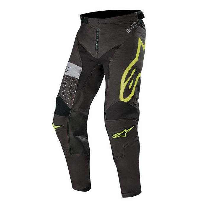 Kit Pants Alpinestars Racer Tech Atomic - 2019- Black Yellow Fluo Grey 40in