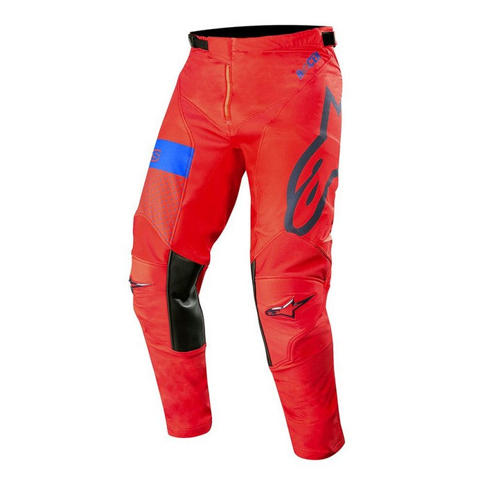 Kit Pants Alpinestars Racer Tech Atomic - 2019- Red Dark Navy Blue 40in