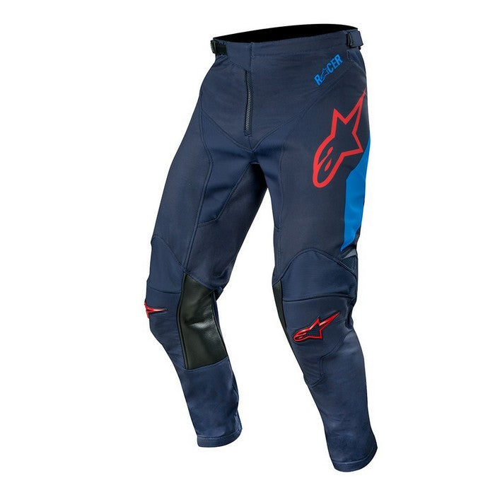 Kit Pants Alpinestars Racer Tech Compass - 2019- Dark Navy Mid Blue Burgundy 32in