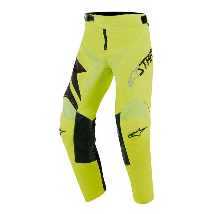 Kit Pants Alpinestars Racer Factory Youth- 2019- Black Yellow Fluo 28 in