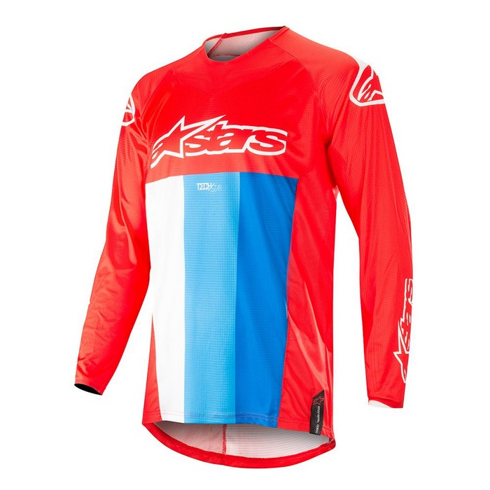 Kit Jersey Alpinestars Techstar Venom - 2019- Red White Blue XXL - Extra Large