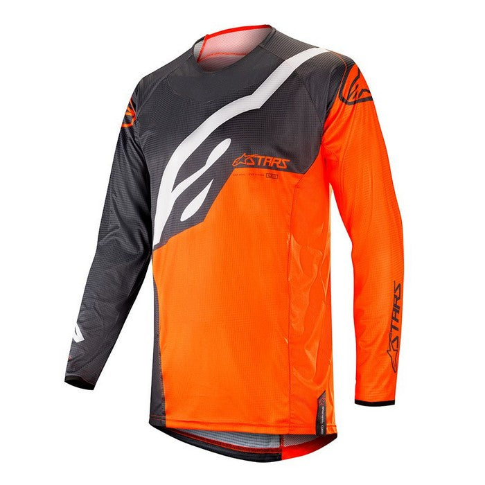 Kit Jersey Alpinestars Techstar Factory - 2019- Anthracite Orange Fluo XXL - Extra Large