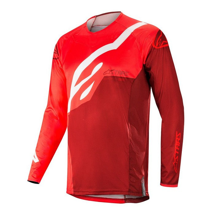 Kit Jersey Alpinestars Techstar Factory - 2019- Red Burgundy XXL - Extra Large