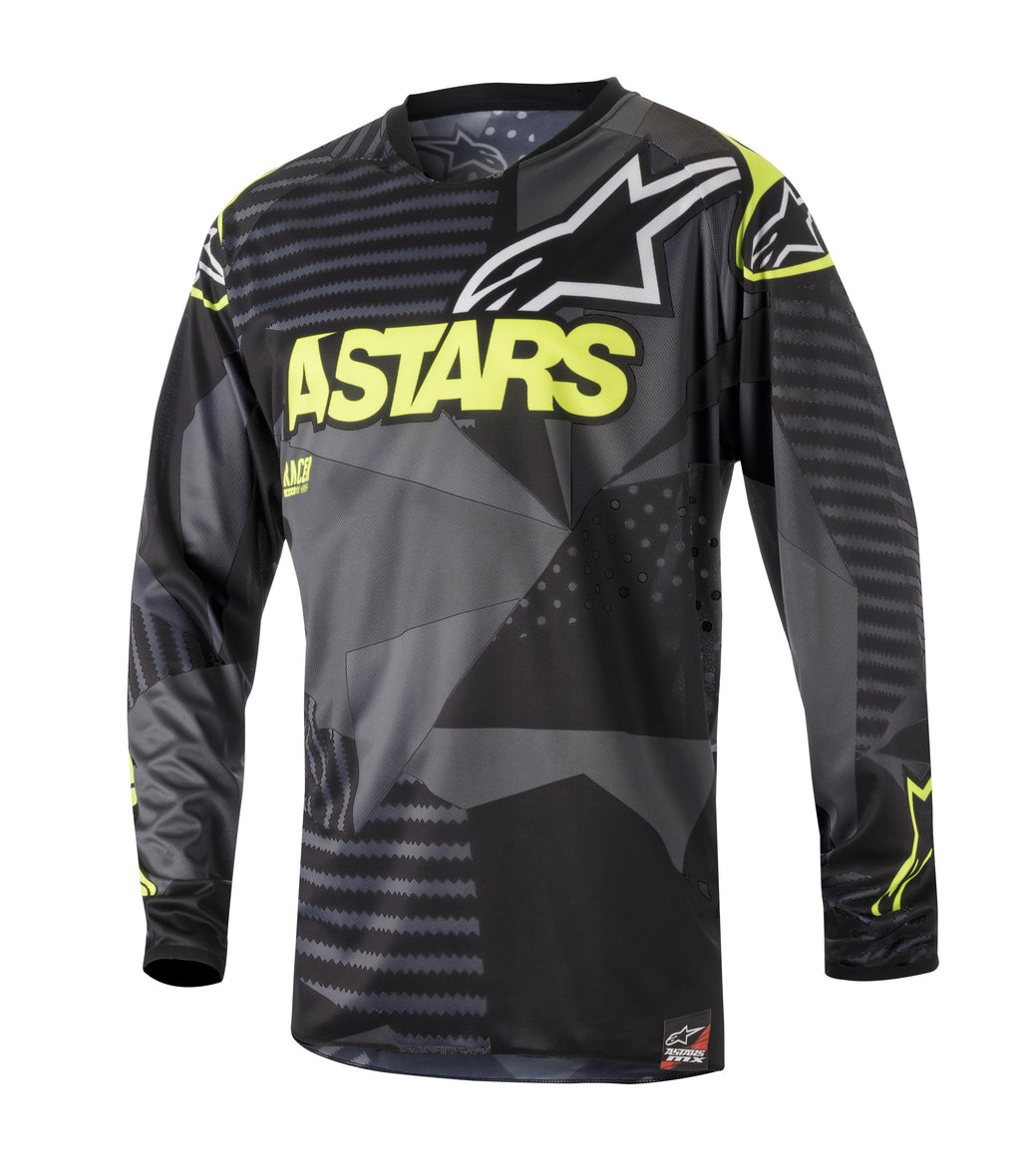Kit Combo Alpinestars Racer Tactical - 2018- Black Flo Yellow 30in S-Small