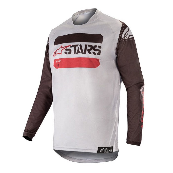 Kit Jersey Alpinestars Racer Teactical - 2019- Black GreyBurgundy XL - Extra Large