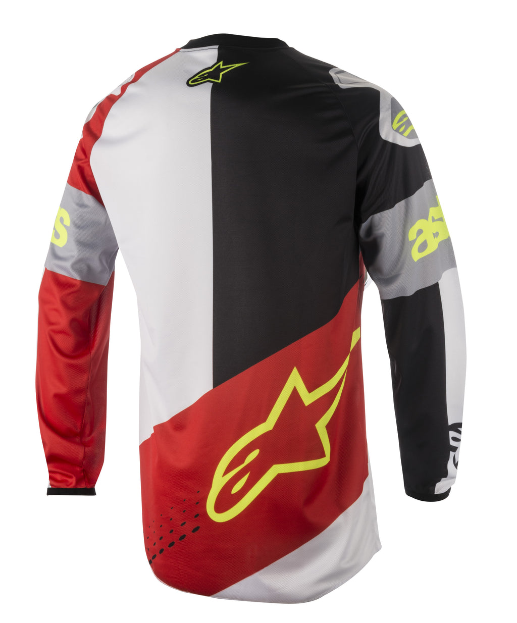 2018 Alpinestars Flagship Racer Jersey Red White Black OCT17