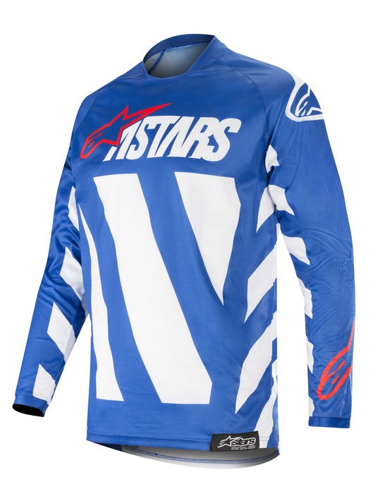 Kit Jersey Alpinestars Racer Braap - 2019- Blue White Red XL - Extra Large