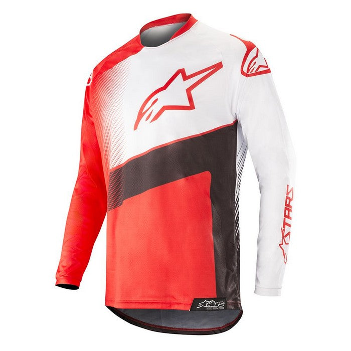 Kit Jersey Alpinestars Supermatic - 2019- Red Black White XL - Extra Large
