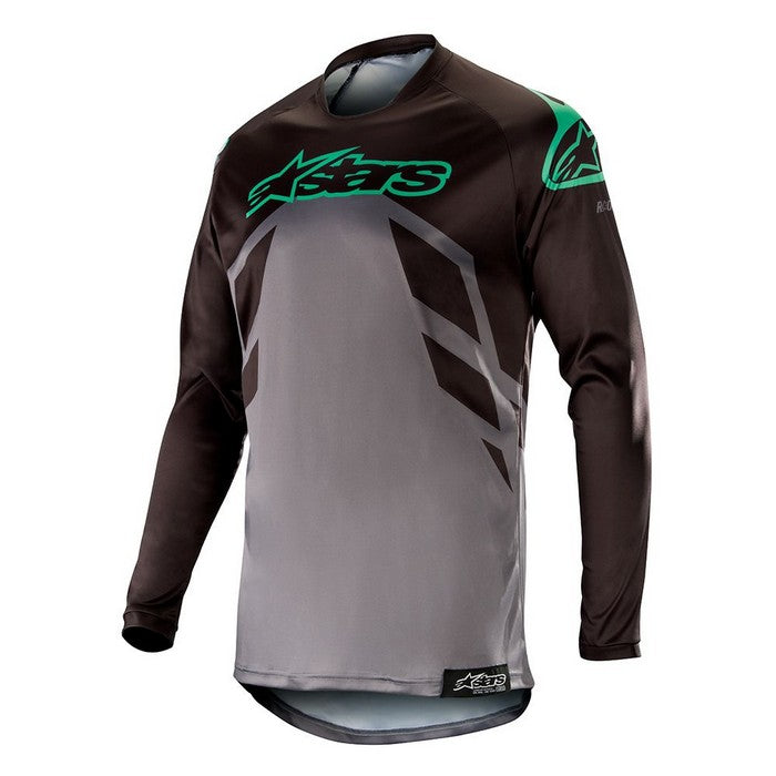Kit Jersey Alpinestars Racer Tech Compass - 2019- Black Mid Grey Teal XL - Extra Large