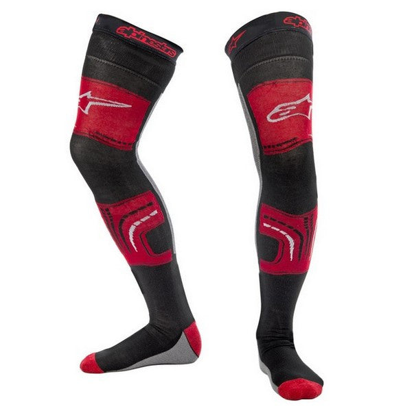 Kit Socks Long Alpinestars - - Red Grey Black S - Small M - Medium