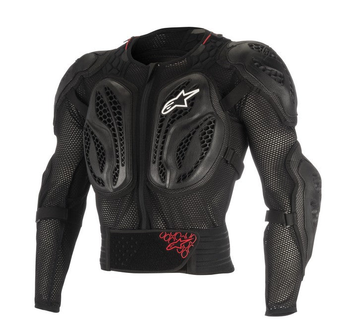Kit Protection Body Armour Alpinestars Bionic Action Jacket - 2018- Black Red XXL - Extra Large