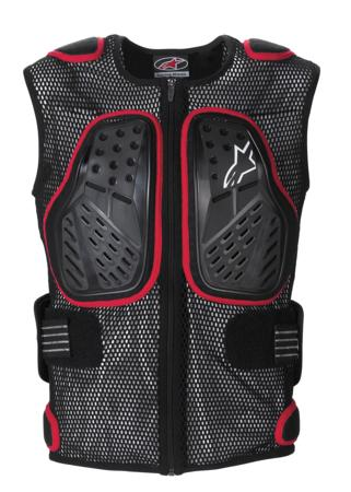 Kit Protection Underlayer Alpinestars Bionic SP Vest - - Black Red S - Small