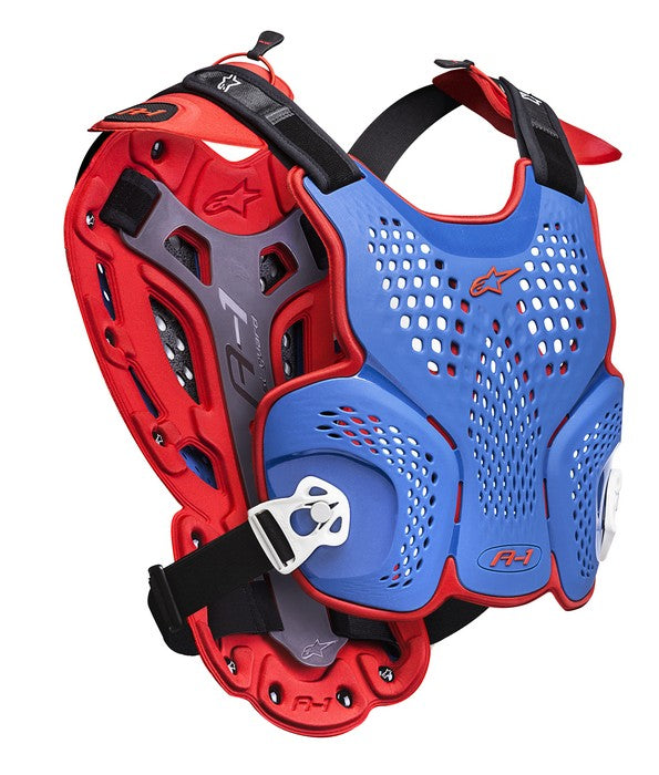 Kit Protection Body Armour Roost Guard Alpinestars A1 - - Blue Red White XL - Extra Large XXL - Extra Large