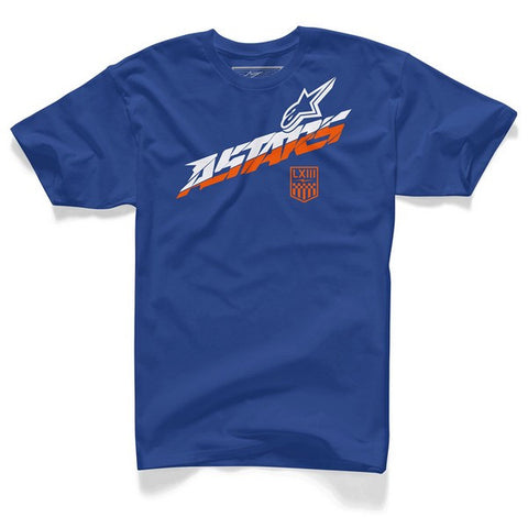 Alpinestars Lateral Blue MX T-shirt