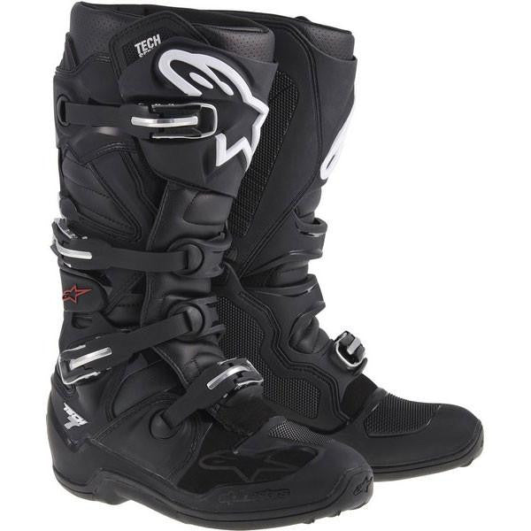 Alpinestars Tech 7 Motocross Boots - Black