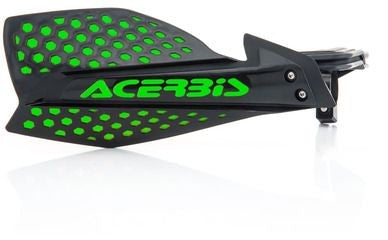 Chassis Plastics Handguard Single Acerbis X-Ultimate Each - - Black Green