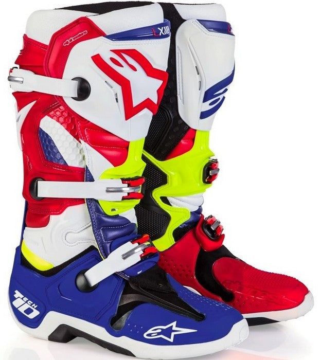 2018 Alpinestars Tech 10 Boots - Blue/Red
