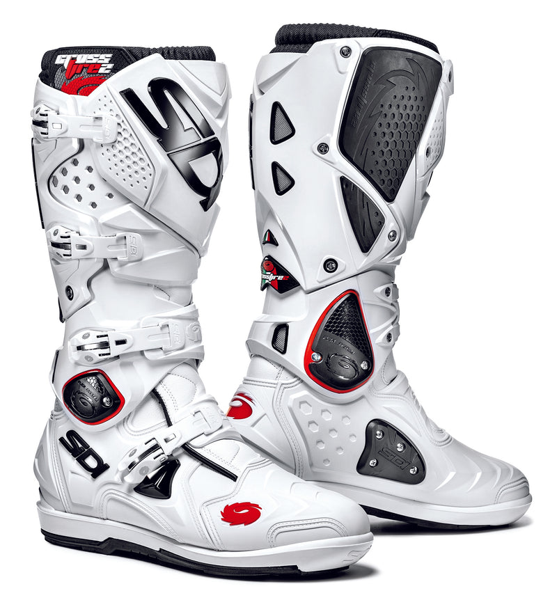 2018 SIDI Crossfire 2 SRS Motocross Boots White